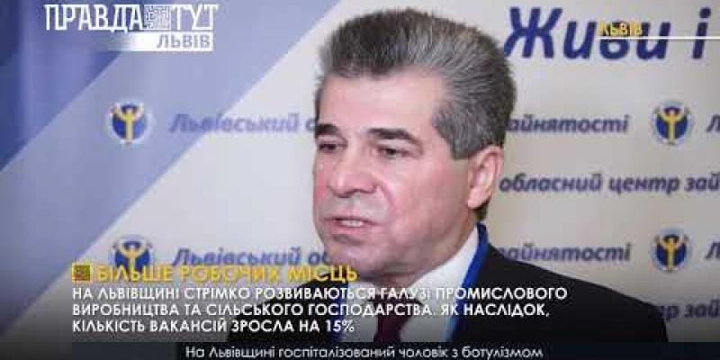 Вбудована мініатюра для У Львові підбили підсумки роботи служби зайнятості за 2018 рік